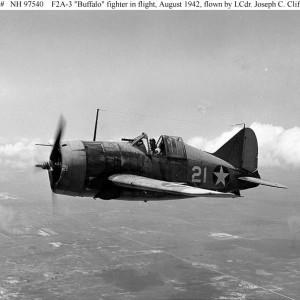 """Brewster F2A-3 """"Buffalo"""""""