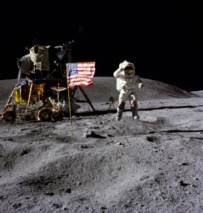 Capt John W. Young 1972 Apollo 16 Mission