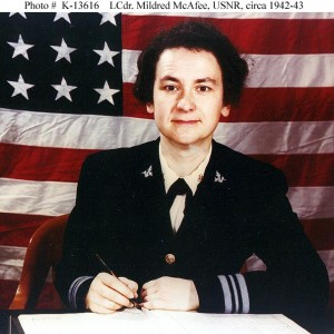 Mildred McAfee USNR