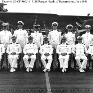 USS Ranger Officers