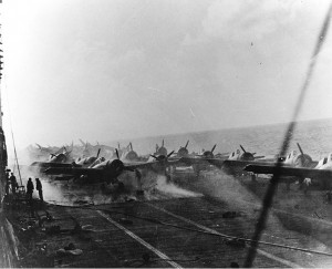 May - Battle of Coral Sea