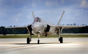 "Joint F-35 ""Lightning II"" operations at Eglin Air Force Base, Florida"